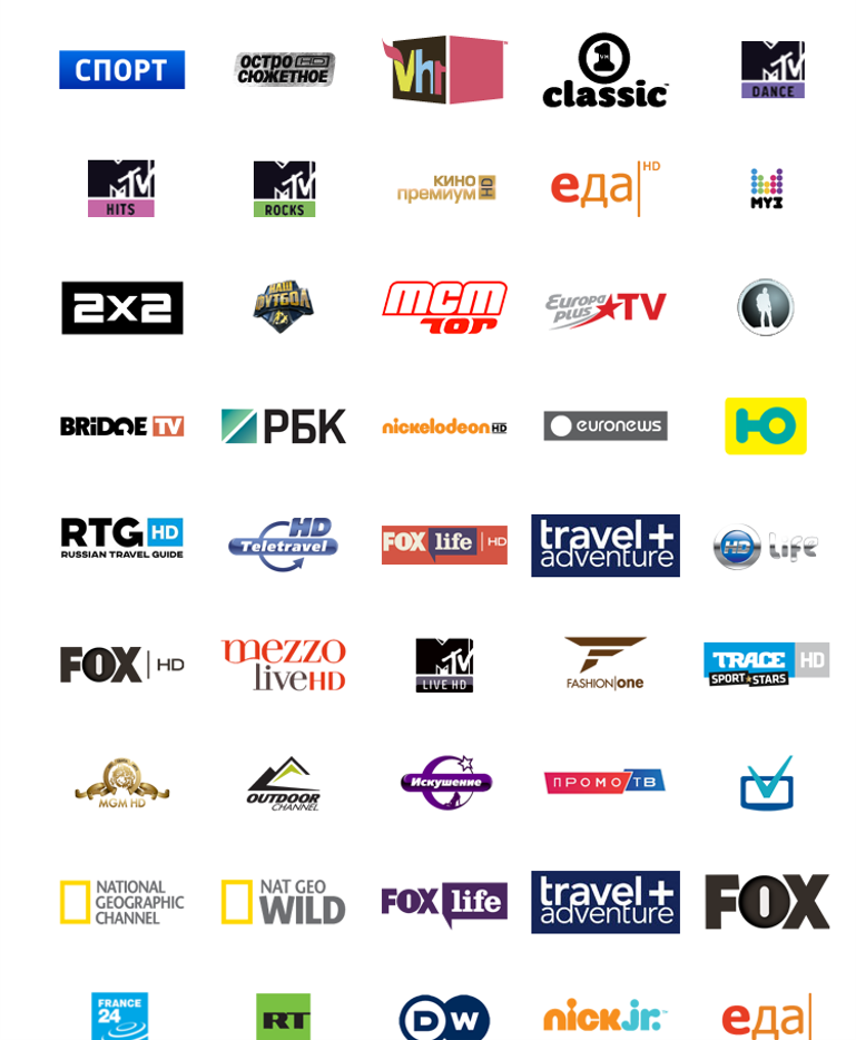 Как настроить бесплатные каналы дополнительно к пакету Триколор ТВ